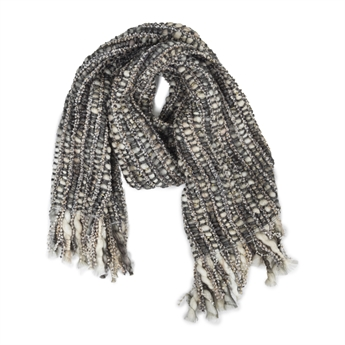 Picture of Scarf Lesly, white/grey