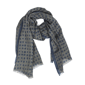 Picture of Scarf Stephanie, grey/blue