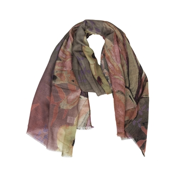 Picture of Scarf Lucille, grey/purple