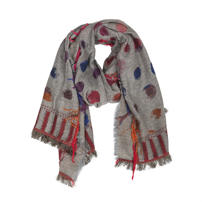 Picture of Scarf Ruth, lt grey