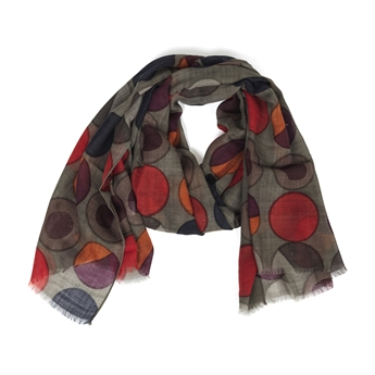 Picture of Scarf Amber, grey