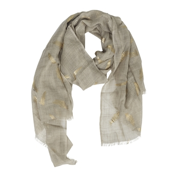 Picture of Scarf Charlee, beige/gold