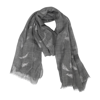 Picture of Scarf Charlee, grey/silver