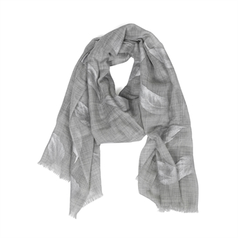 Picture of Scarf Miriam, grey/silver