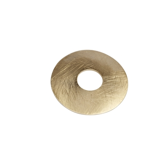Picture of Brooch Kinley, brushed gold.