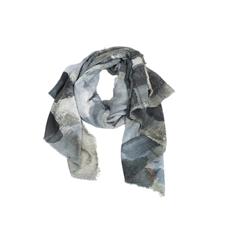 Picture of Scarf Cecilia, grey mix