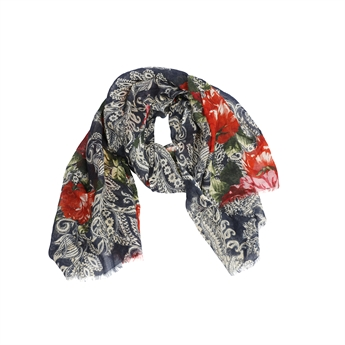 Picture of Scarf Katherine, red/navy