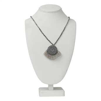Picture of Necklace Louise, grey