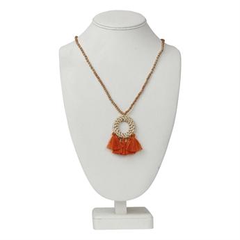 Picture of Necklace Tuva, orange