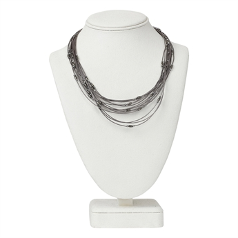 Picture of Necklace Eden, gunmetal