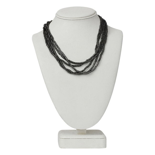 Picture of Necklace Ariel, gunmetal