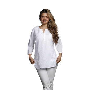 Picture of Tunic Alexandra, size Small, white