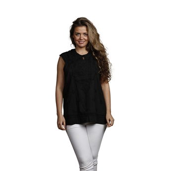 Picture of Tunic Charlotte, size Small, black