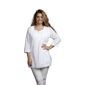 Picture of Tunic Isabelle, size Small, white