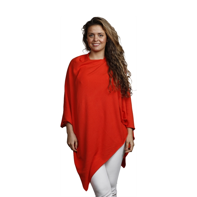 Picture of Poncho Alice, dk coral