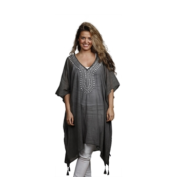 Picture of Kaftan Vilma, dk grey/black