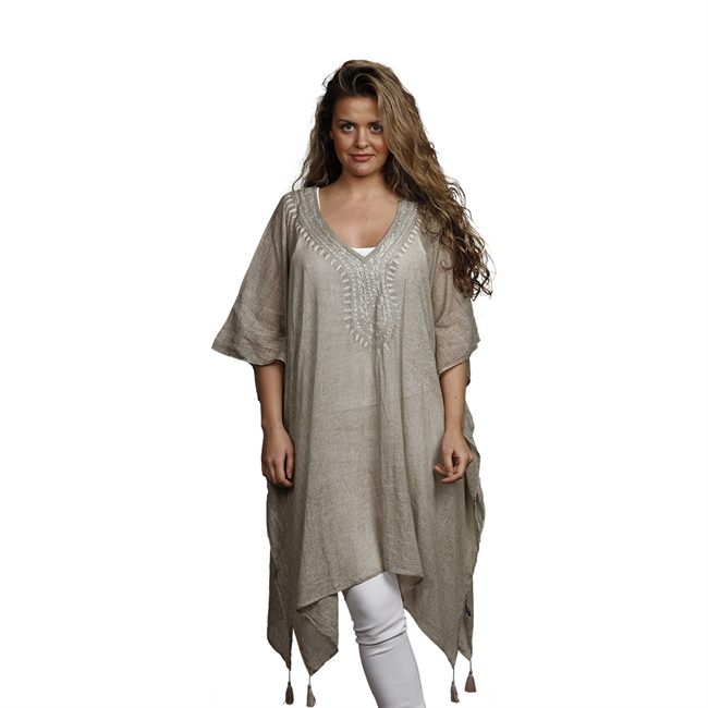 Picture of Kaftan Vilma, lt beige