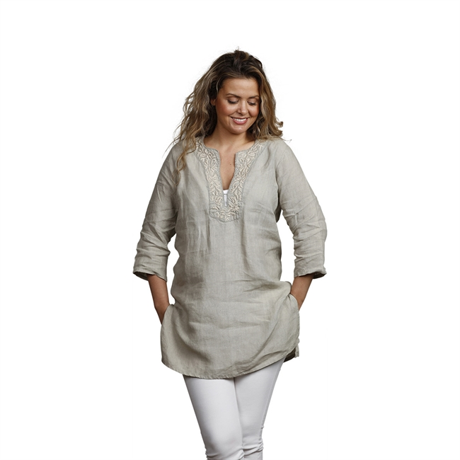 Picture of Tunic Belle, size Small, taupe