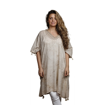 Picture of Kaftan Cannes, beige/gold
