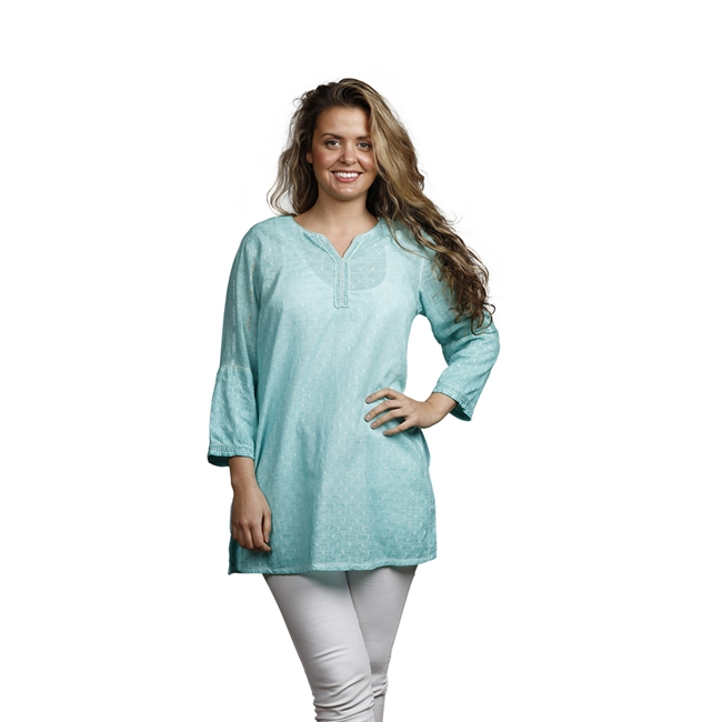 Picture of Tunic Tracey, size Small, turquoise