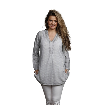 Picture of Tunic Louisette, size Small, grey