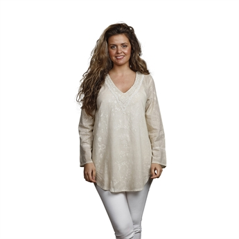 Picture of Tunic Nicole, size Small, beige
