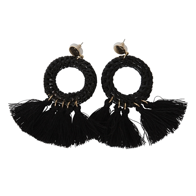 Picture of Earring Vickie, black