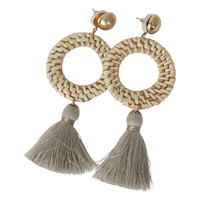 Picture of Earring Victoria, beige