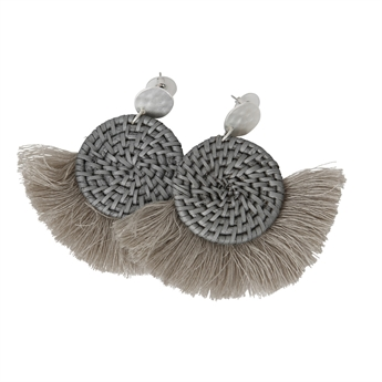 Picture of Earring Louise, grey