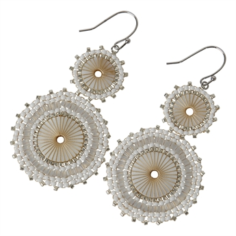 Picture of Earring Alicia, white
