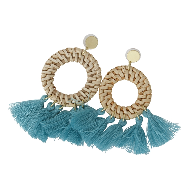 Picture of Earring Tuva, turquoise
