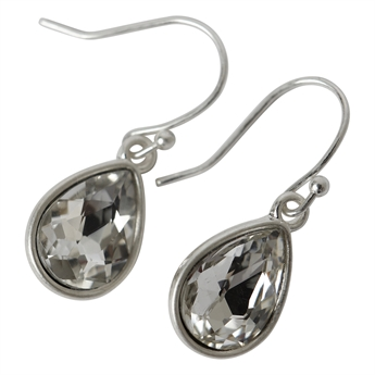 Picture of Earring Matilda, crystal/white