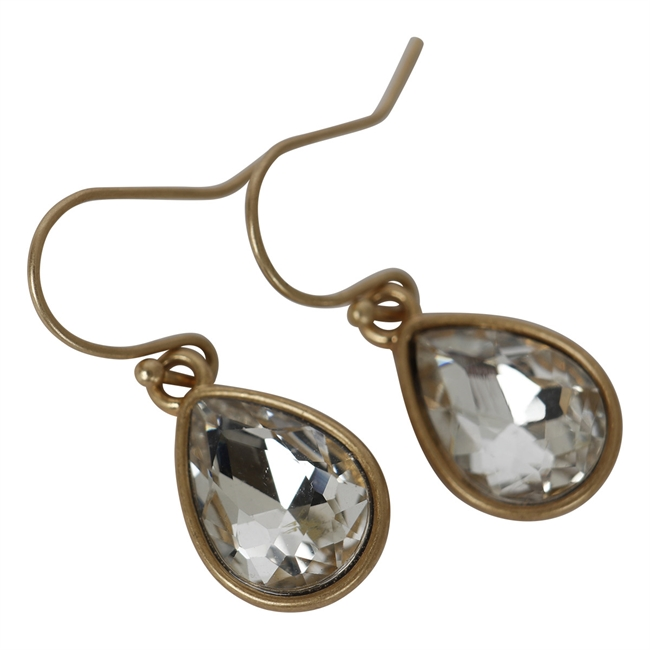 Picture of Earring Matilda, lt grey
