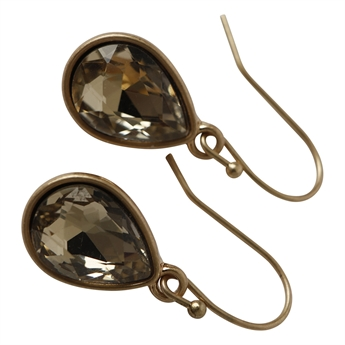 Picture of Earring Matilda, gold/beige