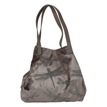 Picture of Shoulder bag Dragonfly, silver