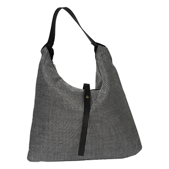 Picture of Shoulder bag Tropez, silver/black
