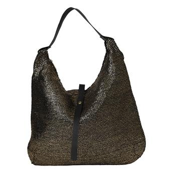 Picture of Shoulder bag Porto Cervo, black/gold