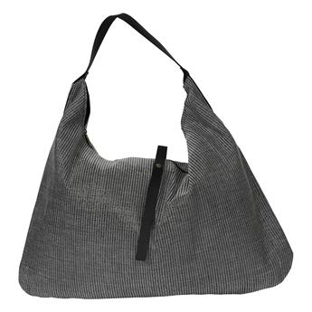 Picture of Shoulder bag Maxime, silver/black