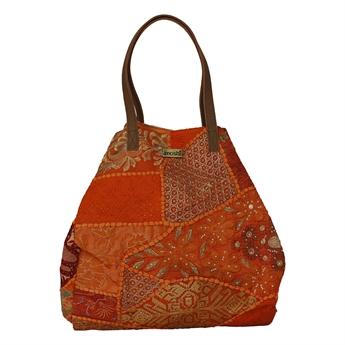 Picture of Shoulder bag Ritikka, dk orange