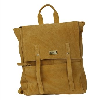 Picture of Back pack Sofia, mustard suede