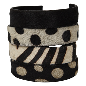 Picture of Bracelet Anna, animal print (4 ass)