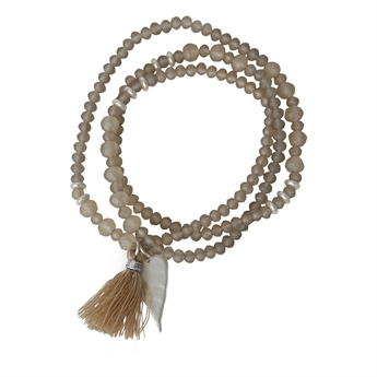 Picture of Bracelet/necklace Hanna, beige