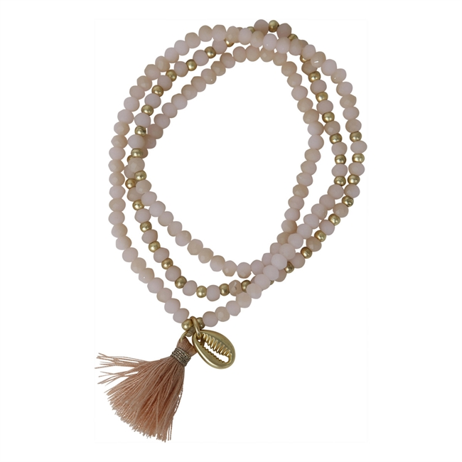 Picture of Bracelet/necklace Wilma, lt pink