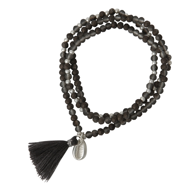 Picture of Bracelet/necklace Wilma, grey