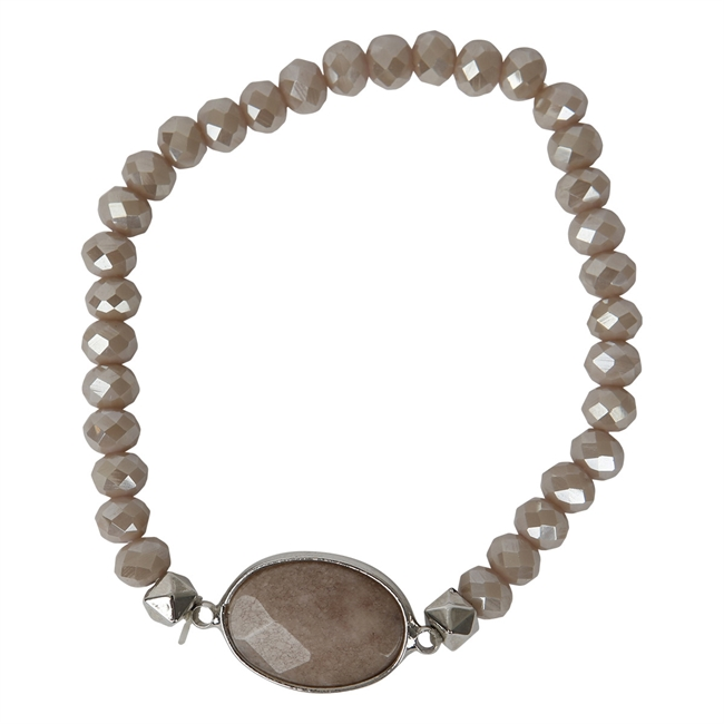 Picture of Bracelet Linnea, beige