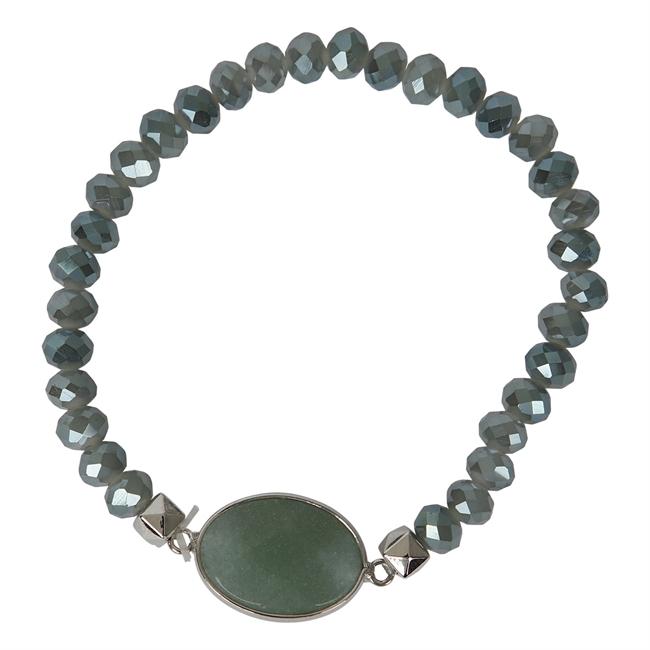Picture of Bracelet Linnea, lt green