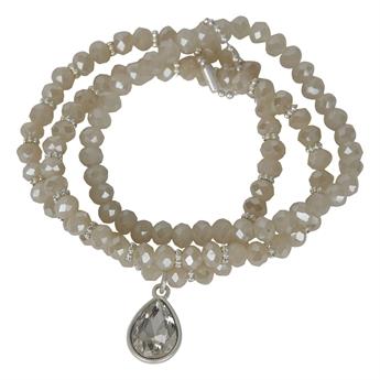 Picture of Bracelet Matilda, crystal/white