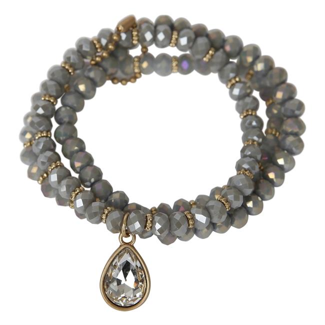 Picture of Bracelet Matilda, lt grey