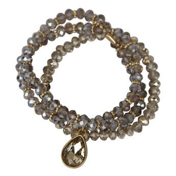Picture of Bracelet Matilda, gold/beige