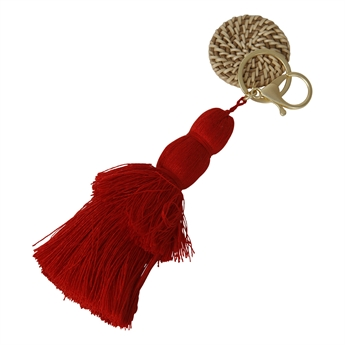 Picture of Keychain/Bag charm Jasmine, red